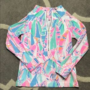 Lilly Pulitzer skipper popover Out to Sea small